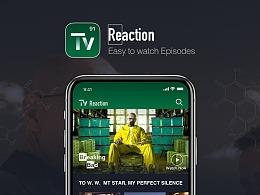 TV Reation 美剧视频APP设计