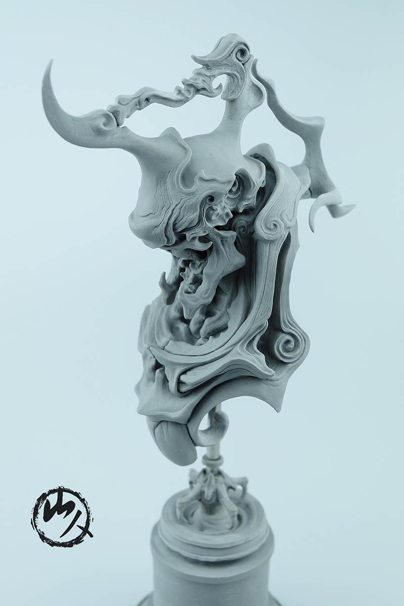 查看《《怒颚摩罗》》原图,原图尺寸:800x1200