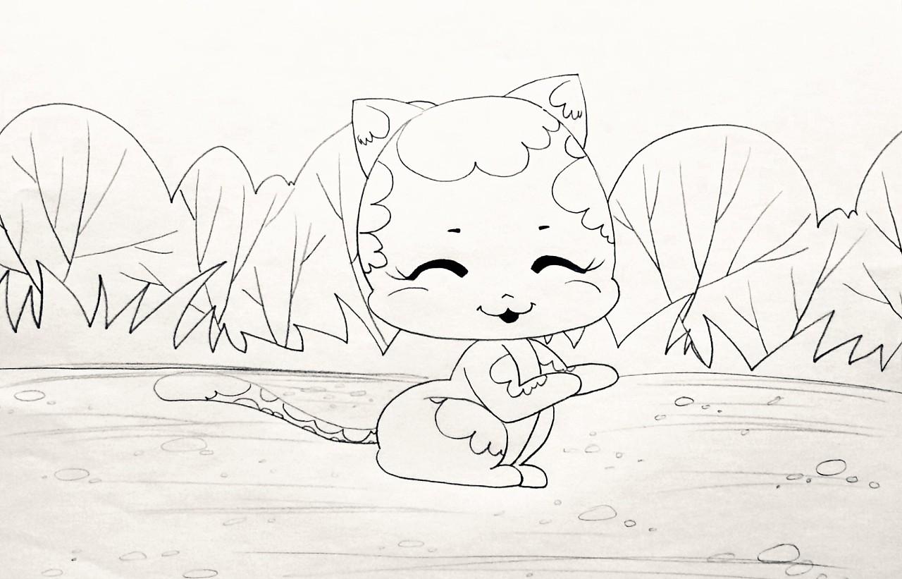 我的手绘卡通画稿|动漫|绘本|想象3000 - 原创作品