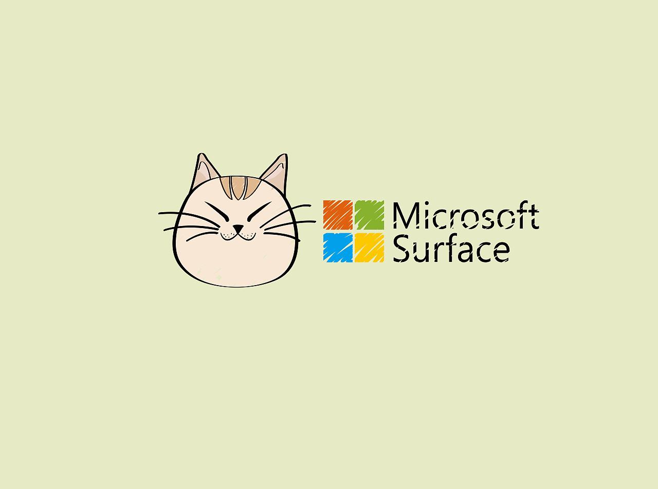此外慵懒,高冷的猫咪也喜欢surface book 2,显示电脑的魅力.