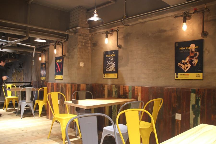 武汉某煲仔饭空间空间设计(实拍)|室内设计|餐饮玫瑰花放简便折法图片