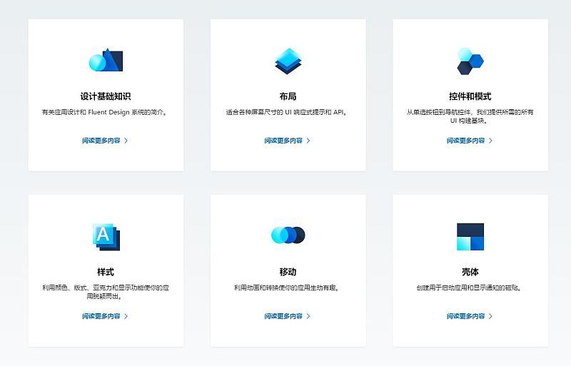 △微软提出的fluent design设计语言图片