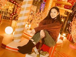 Polina 街拍深圳 约拍旅拍商场 九方购物中心