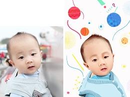 超写实小孩头像 (2)