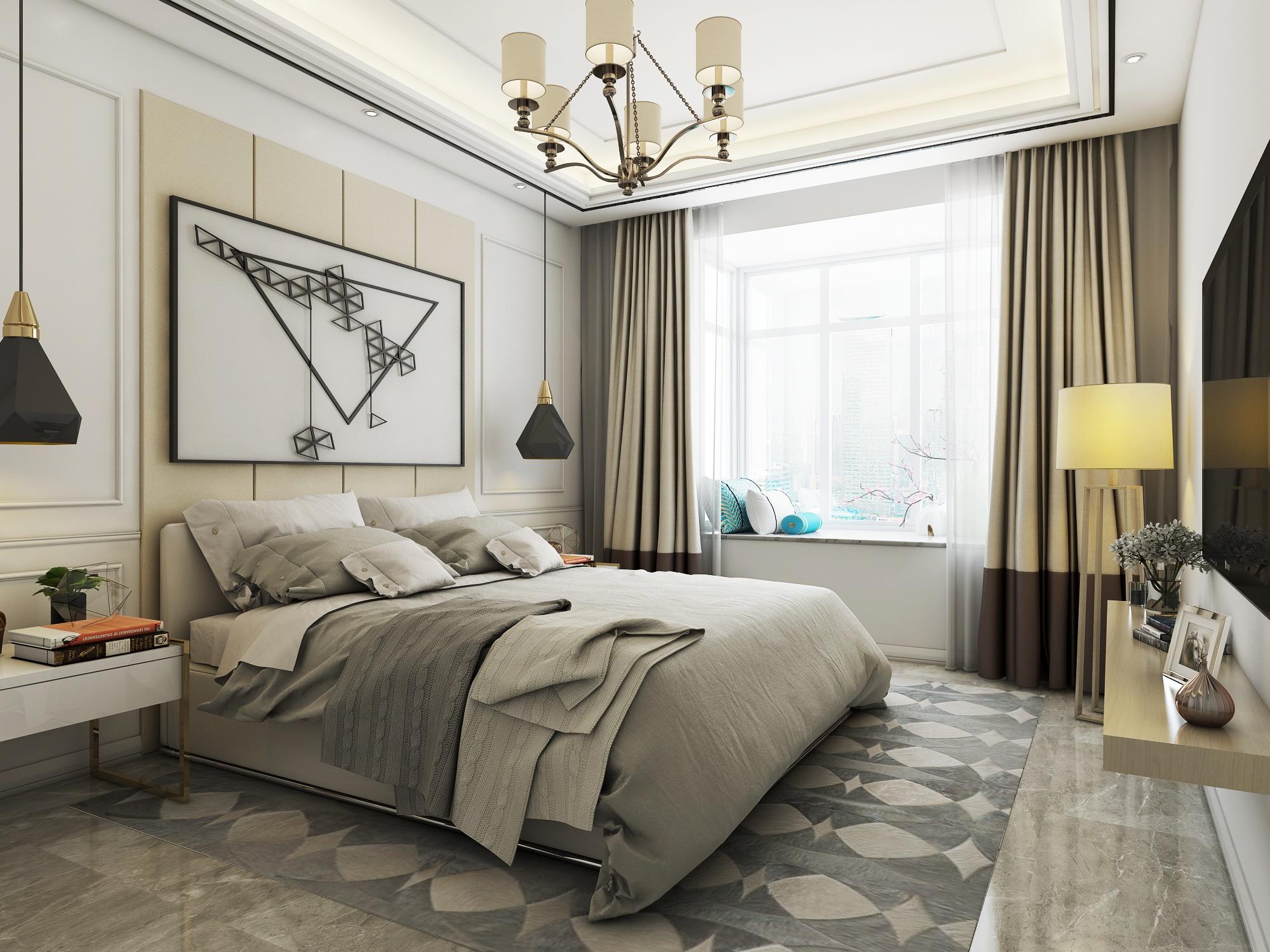 背景墙 房间 家居 起居室 设计 卧室 卧室装修 现代 装修 2000_1500图片