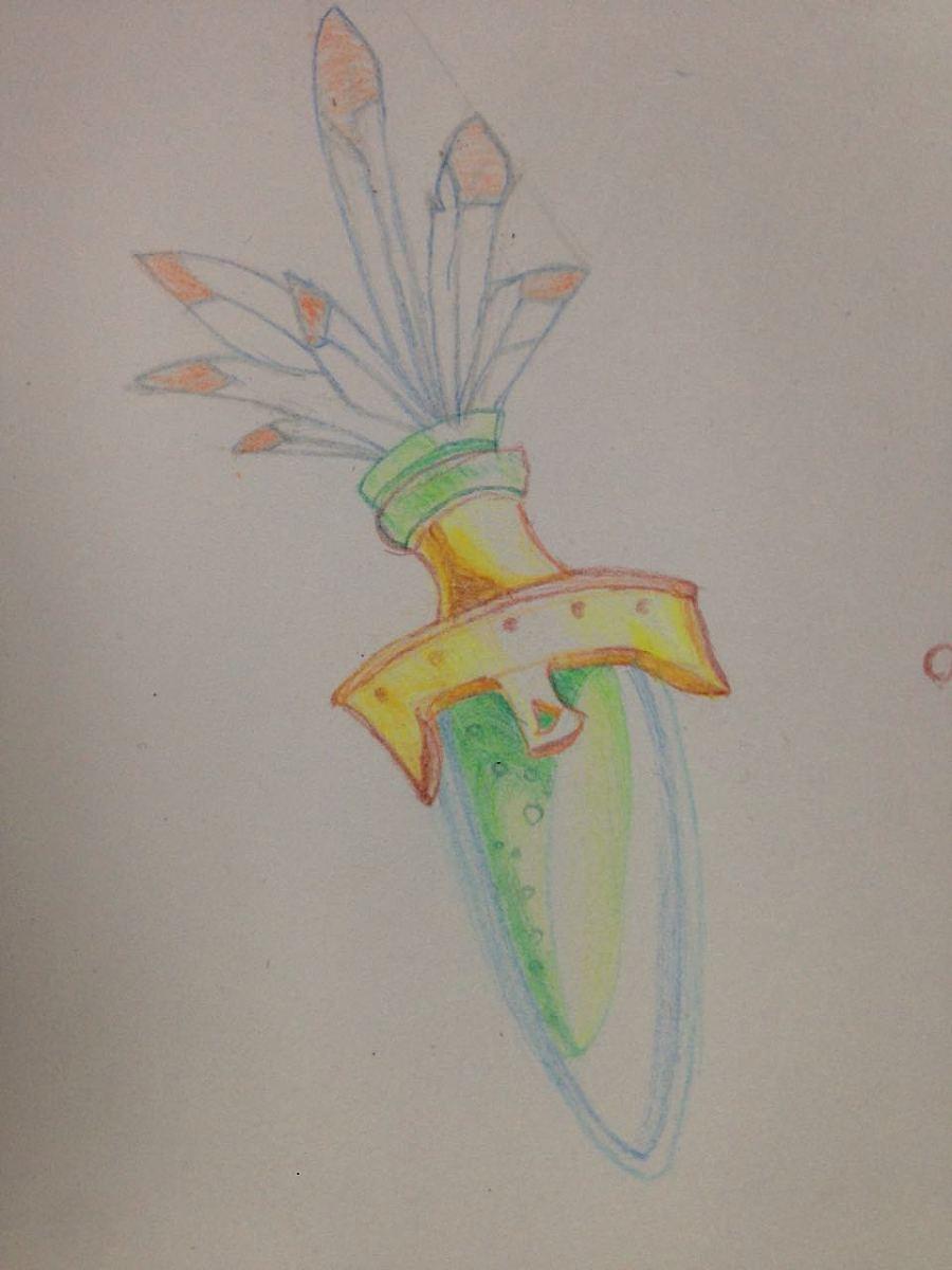 几张素描和彩色笔画图|绘画习作|插画|商鞅变法