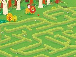 儿童益智迷宫游戏