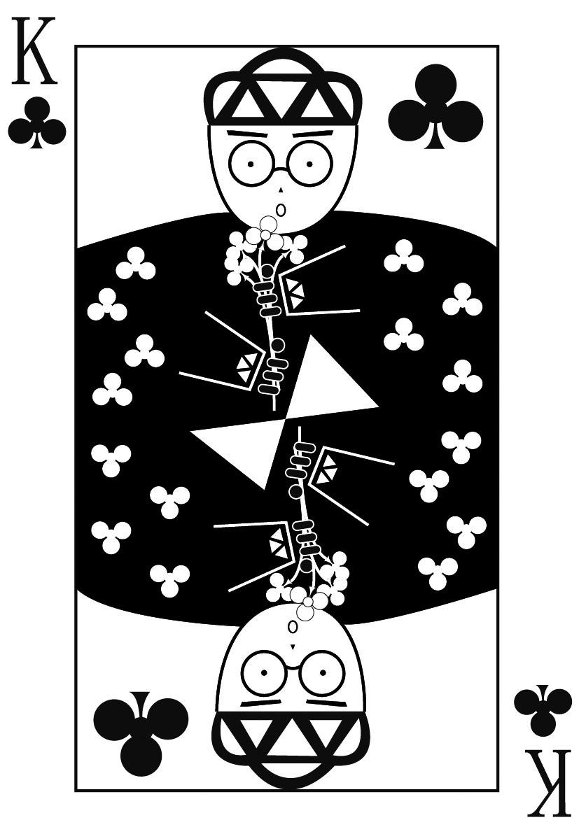 创意图形,头像,扑克牌图片