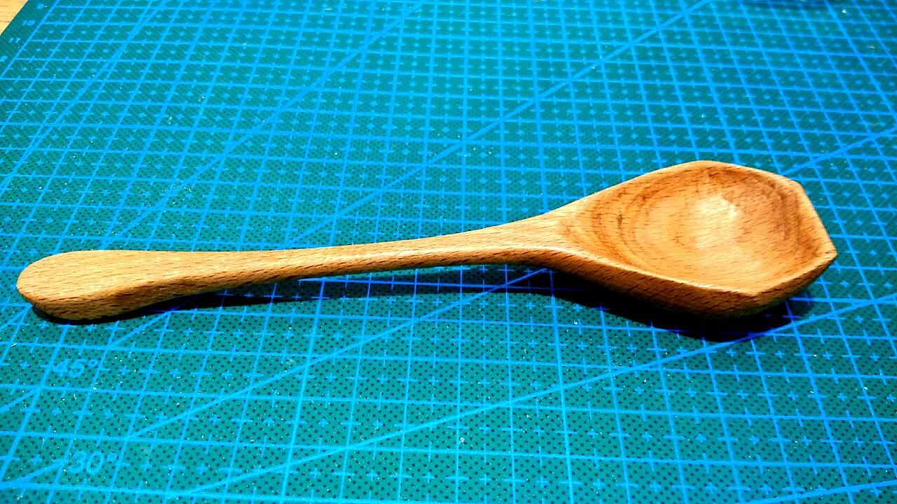 手工制作木勺子