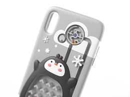 趣味手机壳设计-企鹅迷宫
