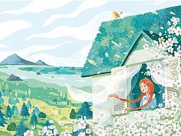 绿山墙的安妮插图
