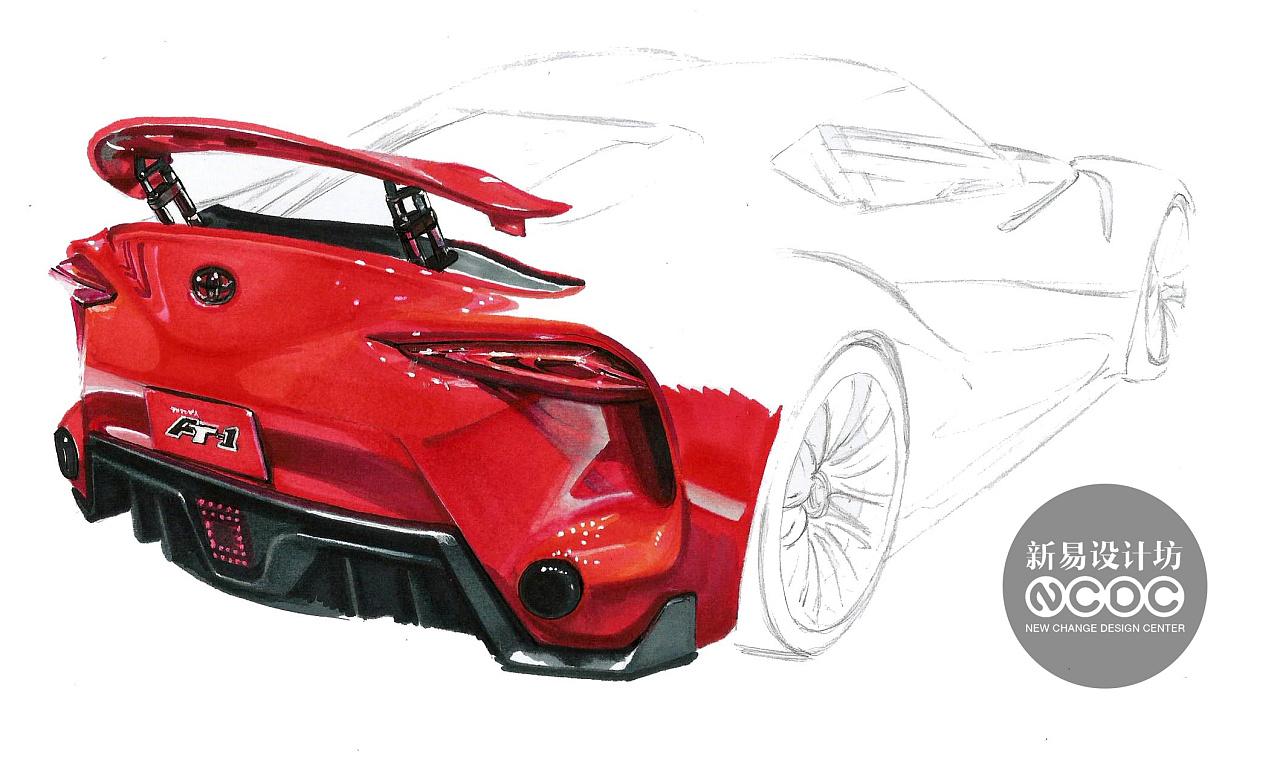 工业设计手绘;工业设计手绘马克笔表达|工业/产品||新
