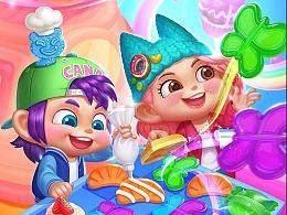 参与制作的游戏《sweet maker》一些美术内容