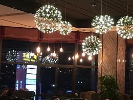 大型商业地产酒店宴会厅中空吊灯定制工厂铭星灯饰