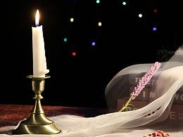 蜡烛 烛台