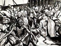 《被关押的义和团士兵》