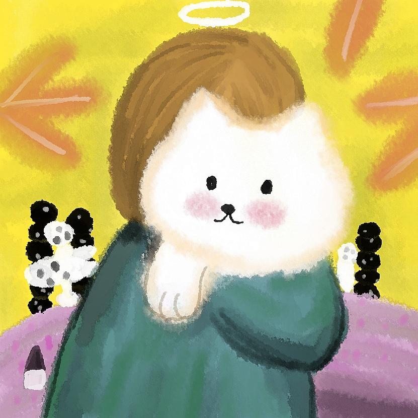 手绘图集|插画|儿童插画|吃吃吃吃成猪 - 临摹作品