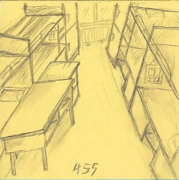 大学时候的 宿舍 速写 绘画 习作 插画 i小毓 原创