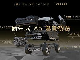 上海车展2015-荣威W5智能橱窗