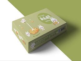 曲奇饼包装设计练习