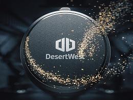 DesertWest 按键版车载手机支架