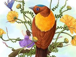 童年·与极乐鸟