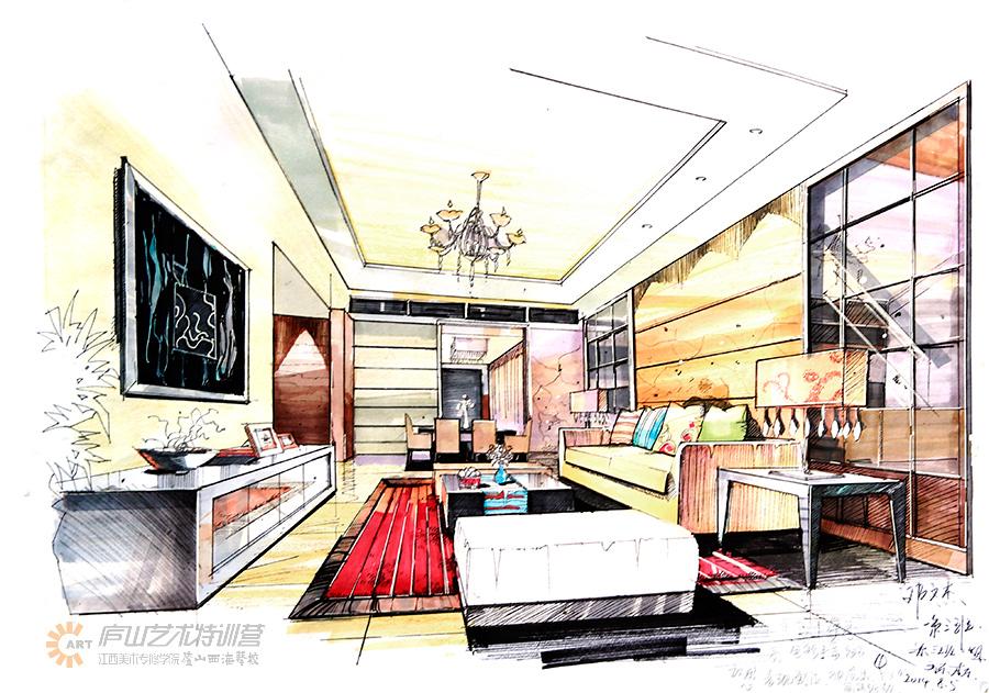 庐山特训营学生室内作品|室内设计|空间/建筑|lushan