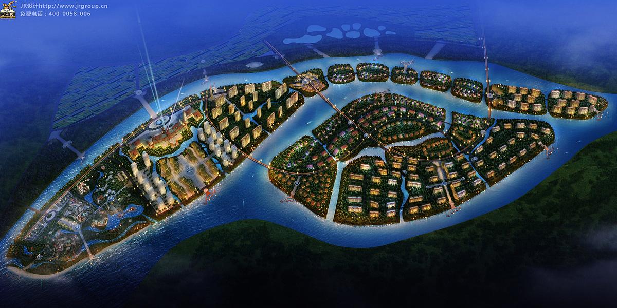 陕西双鱼岛综合体规划