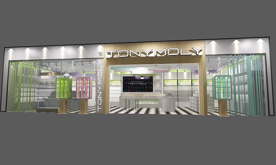 化妆品店面|展示/橱窗/店面设计|空间/建筑|dshang