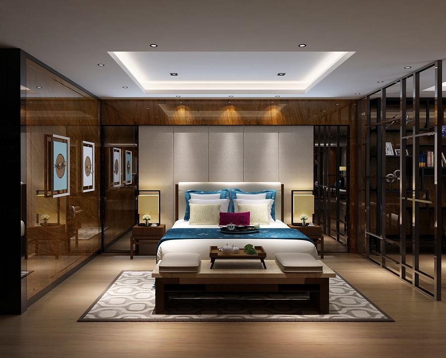 新中式风格别墅|室内设计|空间/建筑|mi
