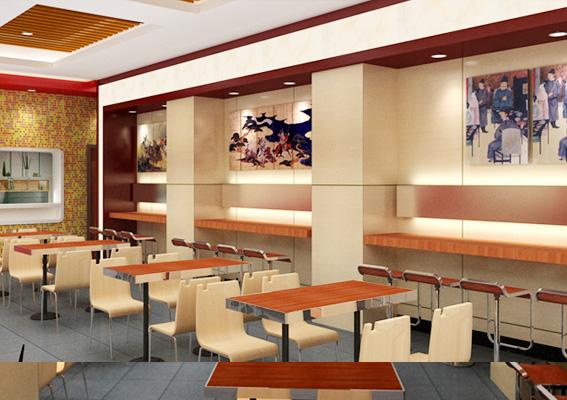 凉州店面装修设计,上海餐饮店装修设计,餐饮店饭店标志设计,西北现在做广告设计怎样v店面图片