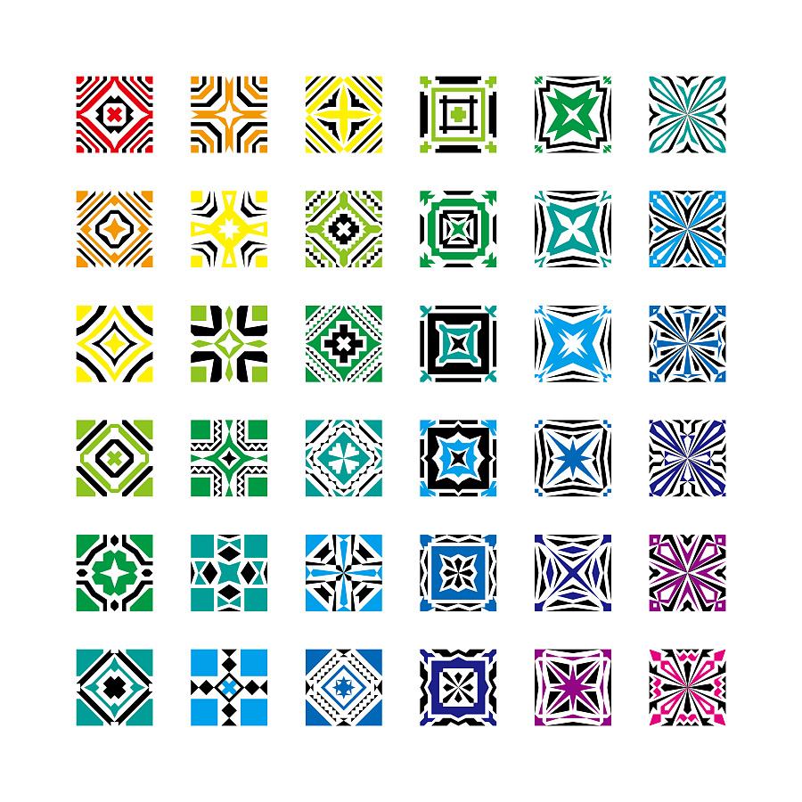 平面图形设计7 图案 平面 x54273x - 原创设计作品