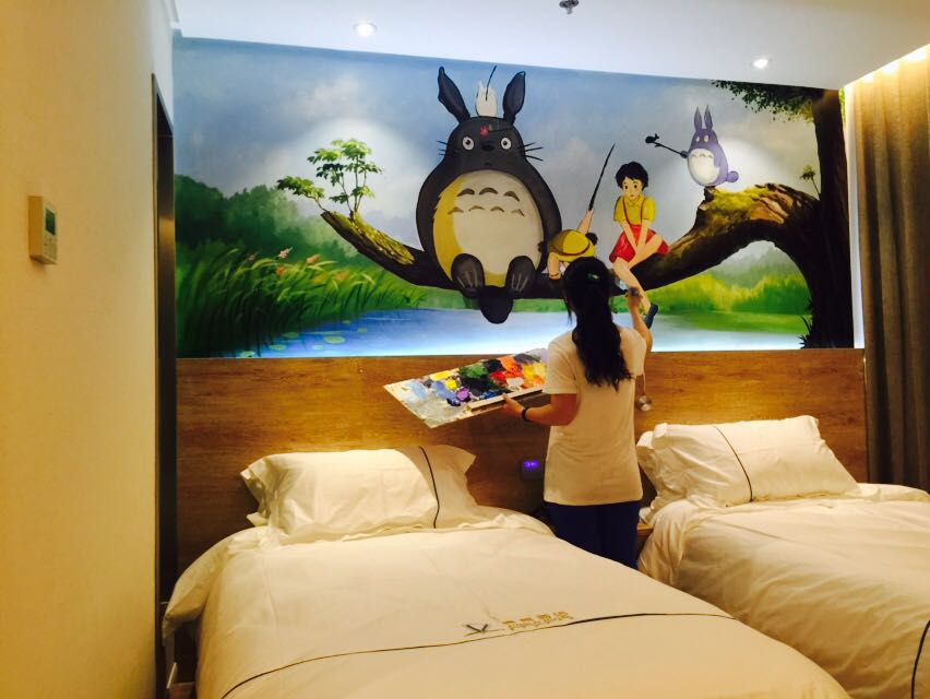 上海成长湾立体手绘墙|墙绘/立体画|其他|李建波3d画