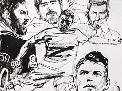 速写《2018世界杯》细节