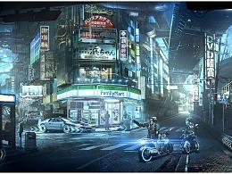 U-MATCH火源兄弟游戏原画场景设计班学员作品NO.40-41