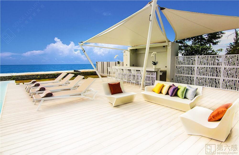 安迪普吉岛度假别墅,内部装修样式