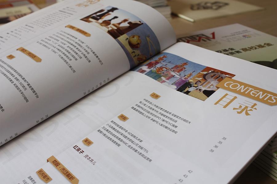 雏菊金融投资机构·《菊视界》第八期双月刊内刊设计图片