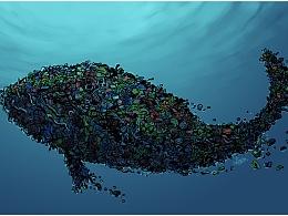 环保漫画,呼吁大家爱护海洋