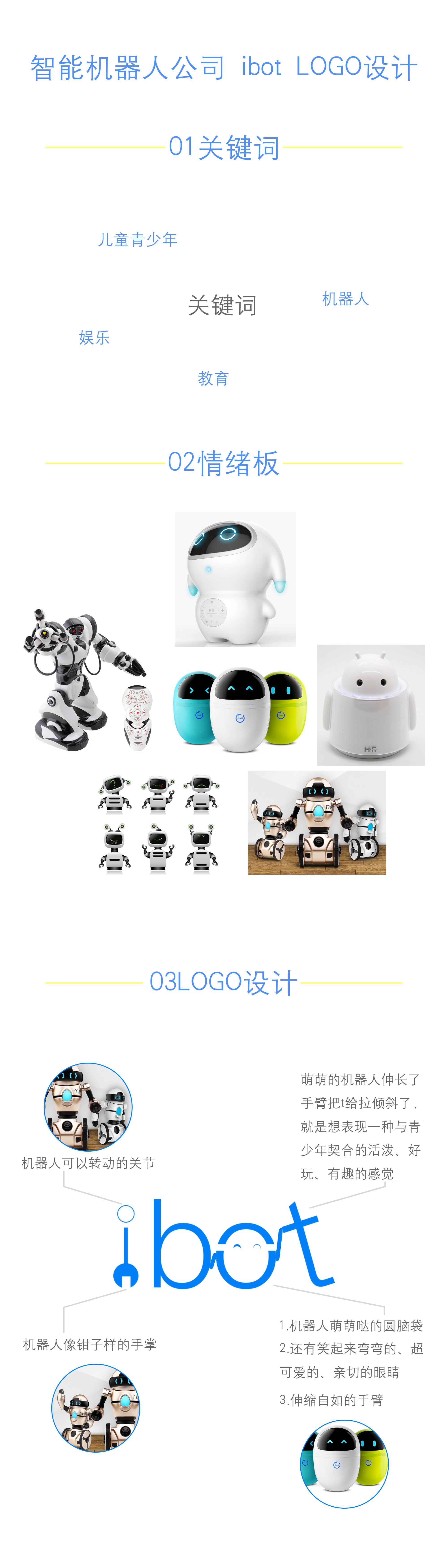 人工智能机器人公司logo设计