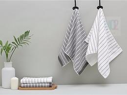 mo2北欧风格毛巾浴巾和毛毯拍摄
