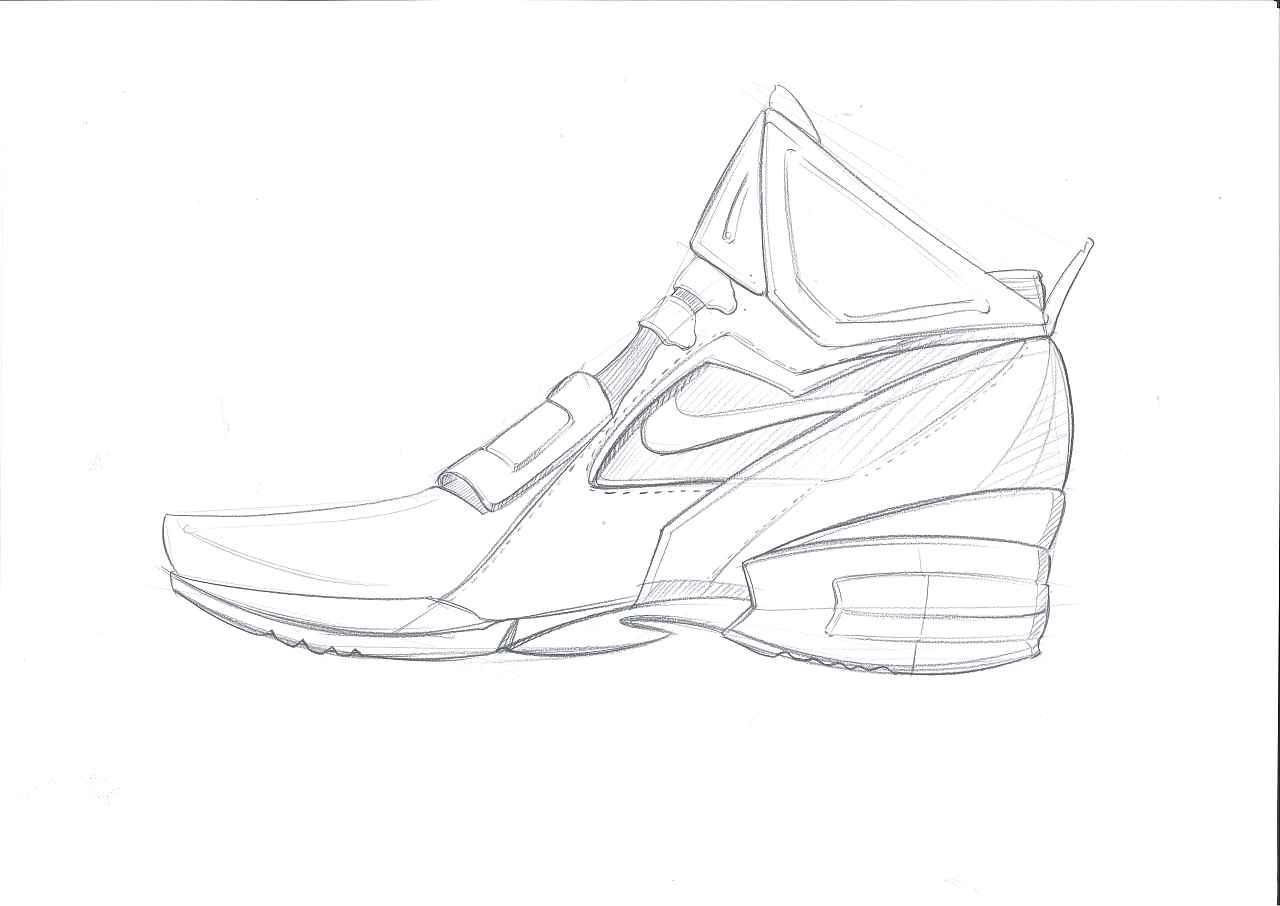 工业设计手绘之鞋子|工业/产品|生活用品|四重人格米