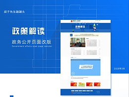 网页设计-政策解读