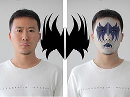 人像后期 利用PS在照片上画一个恐怖戏剧效果的妆容