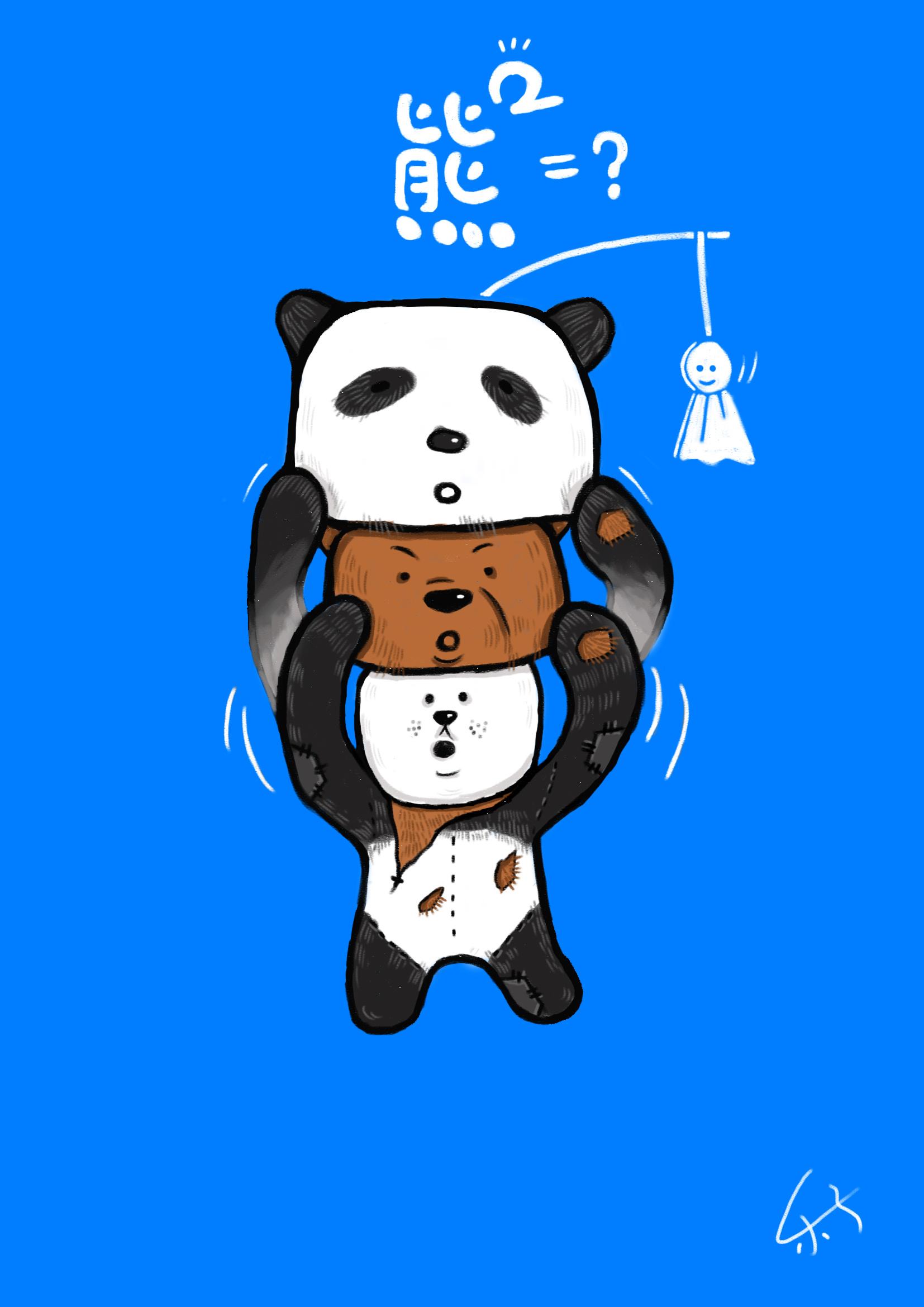 二哈卡通手绘图