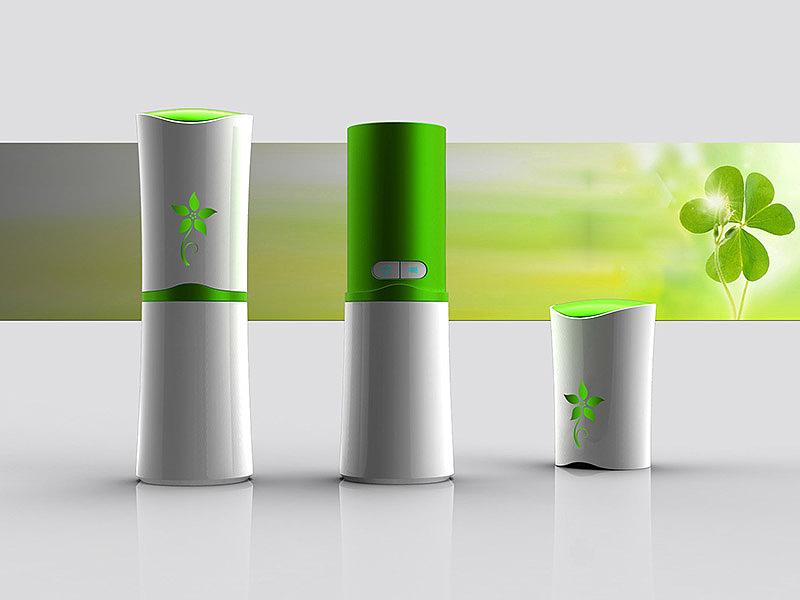 欧兰谱加湿器设计—洛上设计 产品设计 工业设计 平面