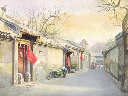 我把我的每一张画当成情书,写给北京!