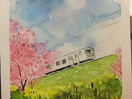 风景画习作