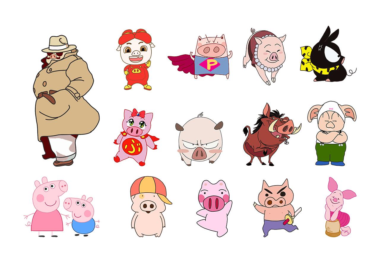 2018年总结(画了一堆猪)图片
