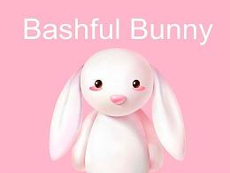 邦尼兔 吉祥物表情包制作卡通ip品牌形象设计