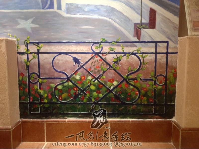 查看《佛山皇磁陶瓷展厅手绘墙/墙体彩绘 》原图,原图尺寸:800x598